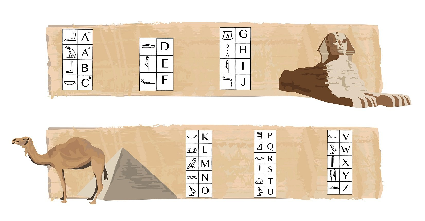 Escape Room Ideas Hieroglyphics