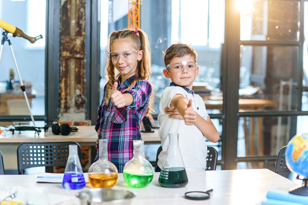 science party kids