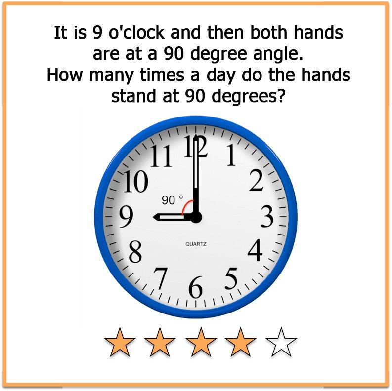 Hard brain teasers Clock