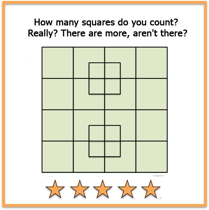 Picture brain teasers square