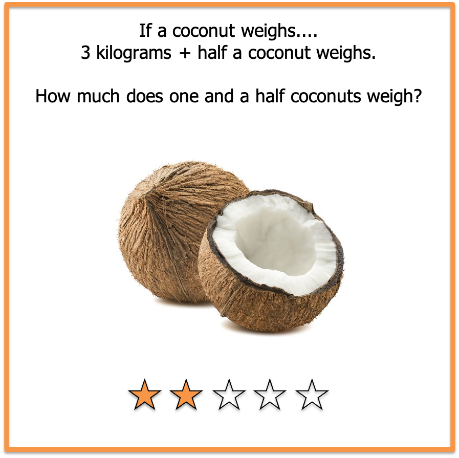 picture brain teasers coconuts
