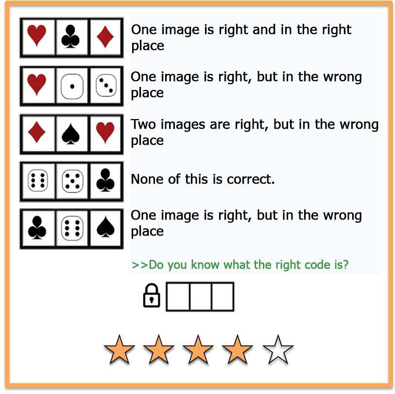 Brain teaser Crack the code