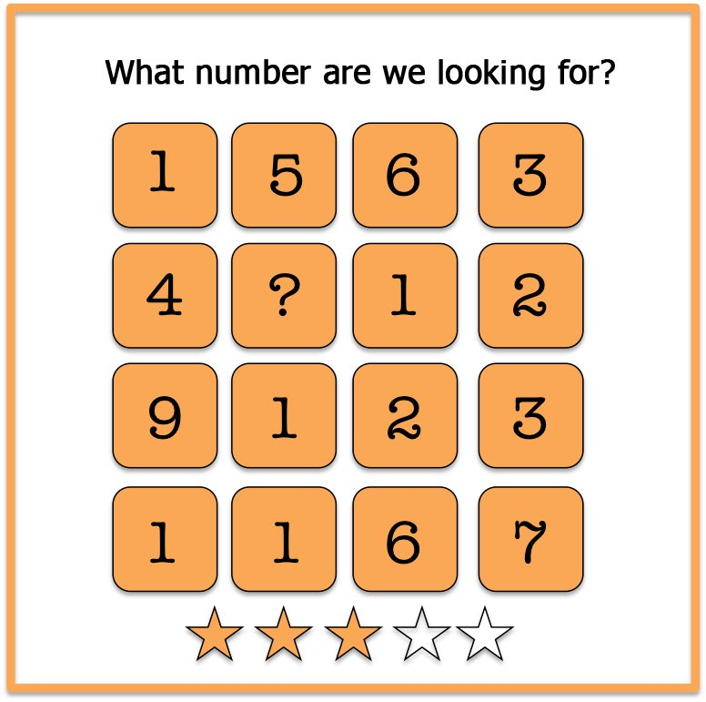 Mind riddles numbers