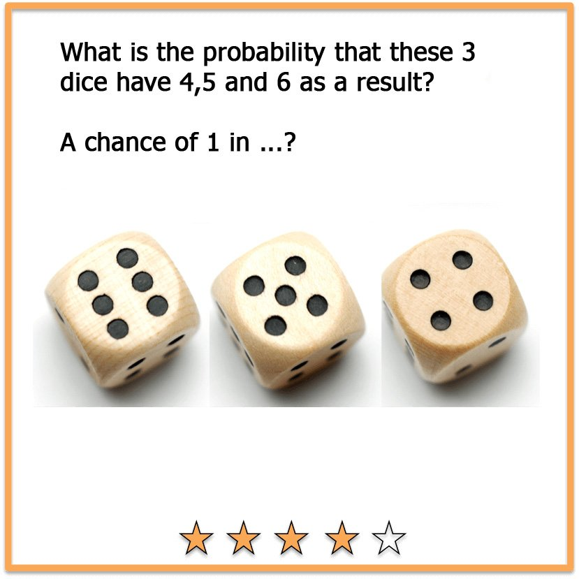 Picture brain teasers dice