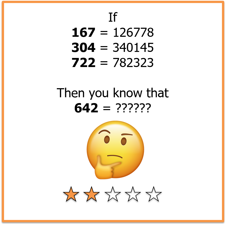 Picture brain teasers numbers