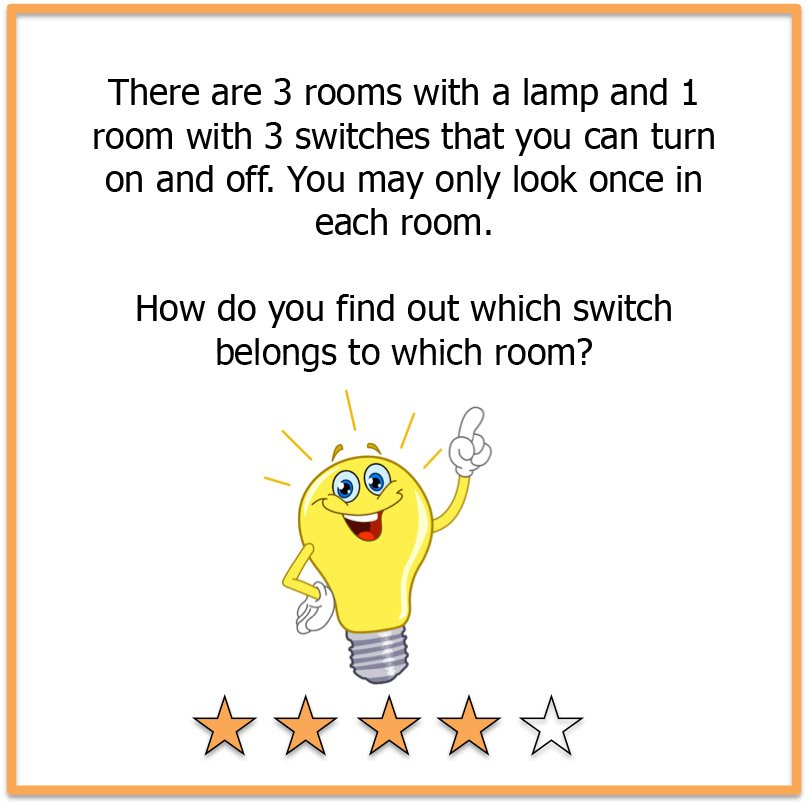 picture brain teasers lamp