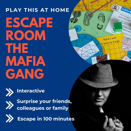 Escape room home game